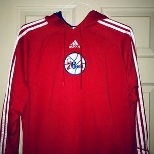 🔥ADIDAS PHILADELPHIA 76ers HOODIE XL